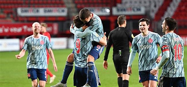 Foto: 'Ajax verrast en schrijft Ajacied keihard af'