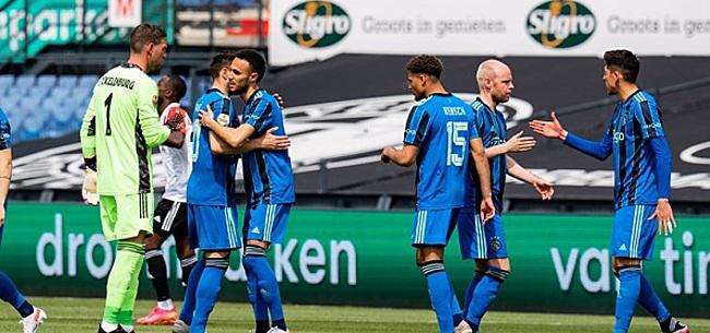 Foto: Fans gaan massaal los op Ajax: