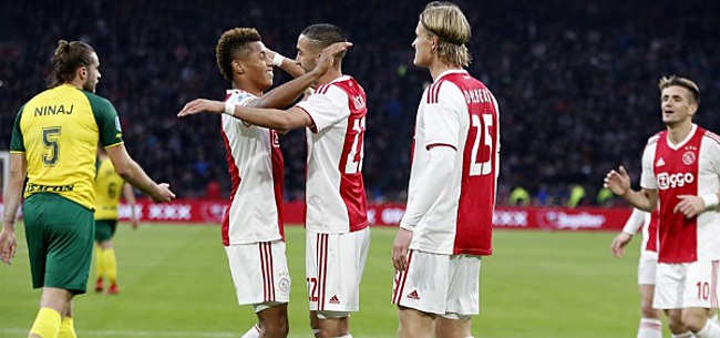 Foto: Kijkers Ajax - Fortuna Sittard verbazen zich: 'Wat een aanfluiting!'