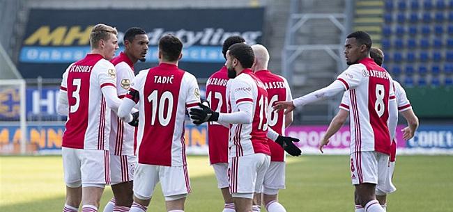 Foto: 'Ajax voert onderhandelingen, transfer is aanstaande'