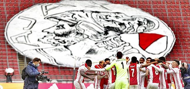 Foto: Kampioenschap Ajax zorgt voor grote onvrede
