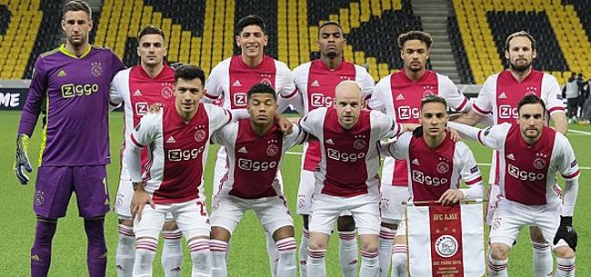Foto: 'Opstelling Ajax tegen Roma: Ten Hag leert van fouten'