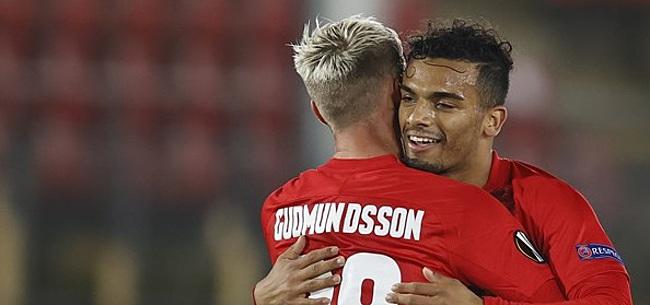 Foto: AZ doet in Europa League wél zelfvertrouwen op