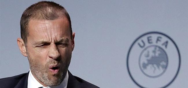 Foto: 'UEFA heeft kilo's boter op het hoofd'