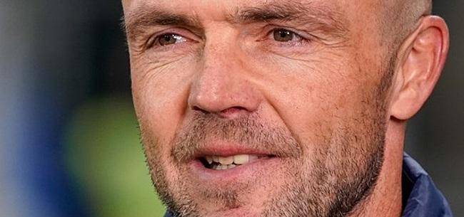 Foto: Schreuder denkt aan afscheid Brenet: 'Ligt ook aan hem'