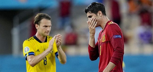 Foto: Luis Enrique smeekt: 'Steun Morata alsjeblieft'