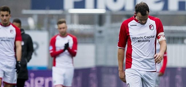 Foto: FC Emmen-ster Jansen hekelt verplaatsing speelronde: 'Kan Ibiza nu afzeggen'