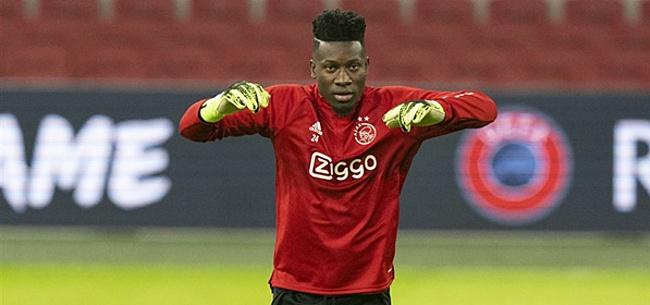 Foto: Onana doet onthulling over 'Ajax-vertrek'