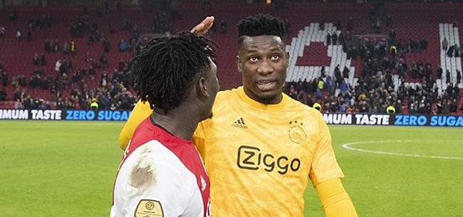 Foto: Supportersvereniging Ajax heeft nieuws voor Onana