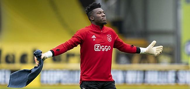 Foto: Uitspraak in zaak Onana: schorsing Ajax-doelman verkort