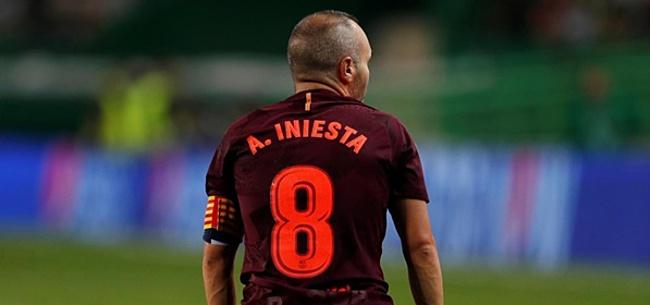 Foto: Oud-Ajacied over Iniesta: