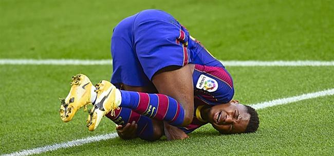 Foto: 'Barcelona en kamp-Fati ruziën over contract'