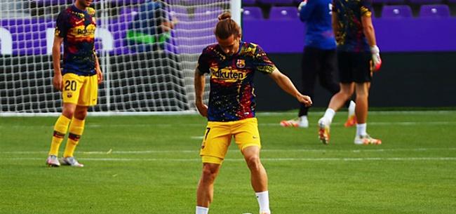 Foto: Nieuwe fikse dreun voor Antoine Griezmann bij FC Barcelona