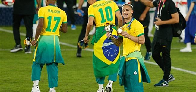 Foto: Thiago Silva verbaasd over Antony: 'In 10 jaar!'