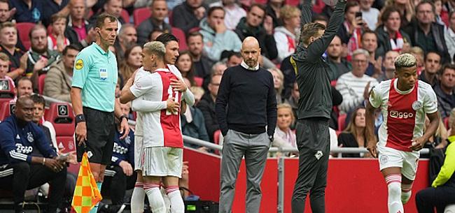 Foto: 'Ajax-conflict op komst na dramatisch slot'
