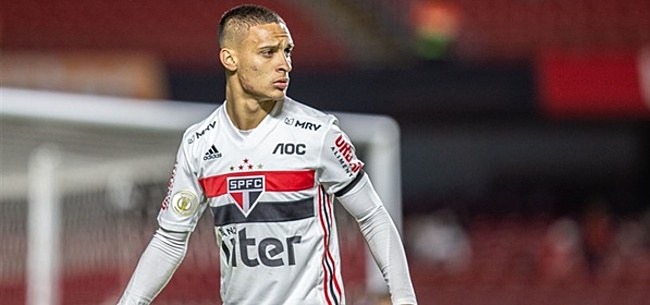 Foto: Antony reageert op Ajax-transfer: