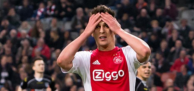 Foto: 'Ajax sluit vertrek deze aanvaller niet uit, versterking is bittere noodzaak'