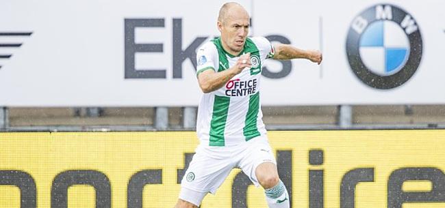 Foto: Voetbalfans schrijven massaal over rentree Arjen Robben