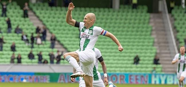 Foto: Heel Twitter gaat los over Arjen Robben