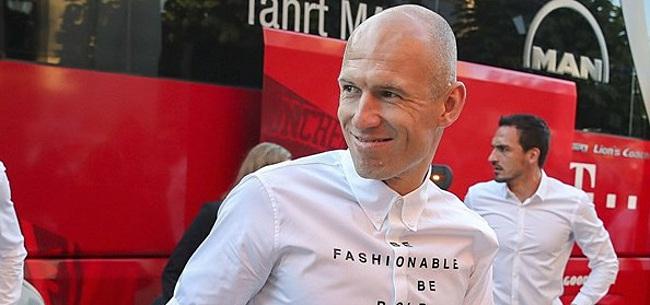 Foto: Robben verkiest Guardiola boven Van Gaal: