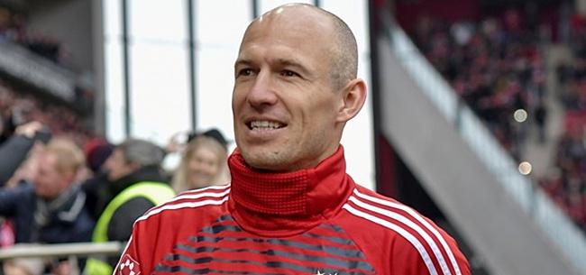 Foto: Robben biecht op: