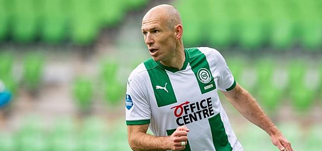 Foto: Robben overweegt andere positie bij FC Groningen
