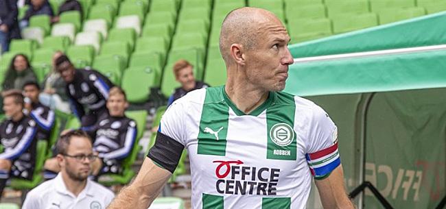 Foto: FC Groningen had naast Robben bijna nog een grote verrassing te pakken