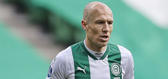 Foto: Robben mist weerzien met PSV na korte rentree