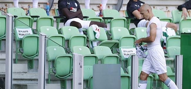 Foto: 'Robben heeft de nodige aanvaringen gehad met medespelers'