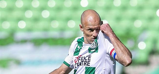 Foto: Robben staat voor lastige keuze: