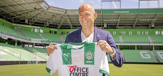 Foto: 'Arjen Robben moest Ziyech vervangen bij Ajax'