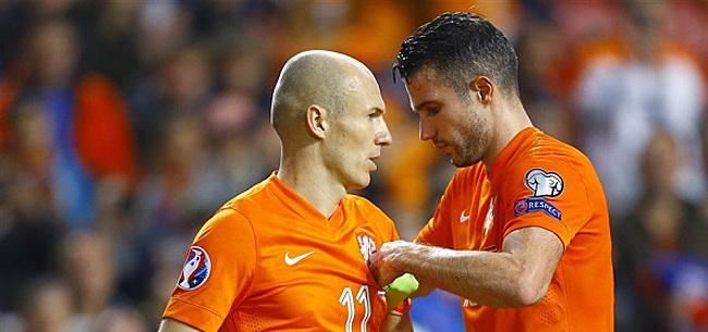 Foto: Van Persie over Robben: