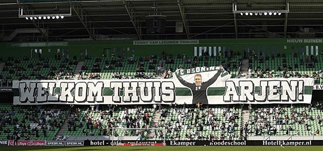 Foto: 'Arjen Robben-blessure door armoedig Groningen'