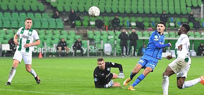 Foto: Broja vergeet Vitesse winst te bezorgen in Groningen