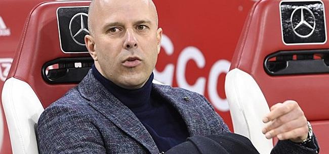 Foto: Slot niet erg enthousiast over 'plaag voor Ajax'