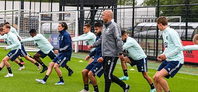 Foto: Feyenoorder ontbreekt op eerste training: transfer?