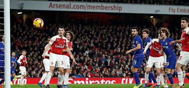 Foto: Zware knieblessure overschaduwt derbyzege Arsenal
