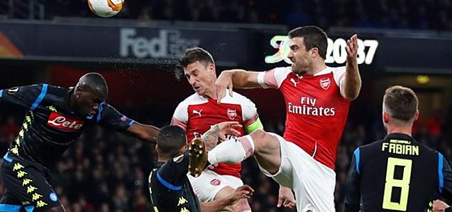 Foto: Arsenal maatje te groot voor Napoli, Nederlanders verliezen bij Benfica