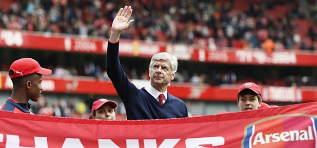 Foto: Wenger haalt hard uit naar Arsenal-supporters