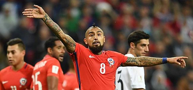 Foto: 'Chili creëert mega-rel tijdens Copa América'