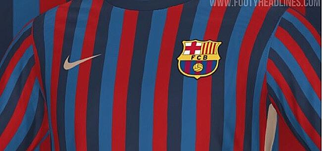 Foto: Opvallend nieuw shirt van FC Barcelona gelekt