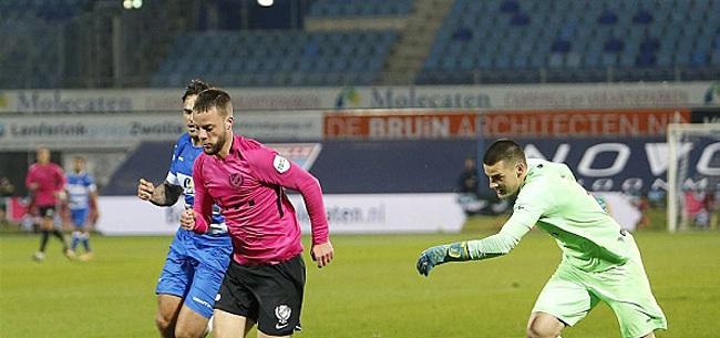 Foto: FC Utrecht komt ook in Zwolle niet tot winst