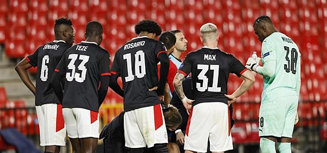 Foto: Drie uitvallers bij PSV: 'Zij hebben een probleem'
