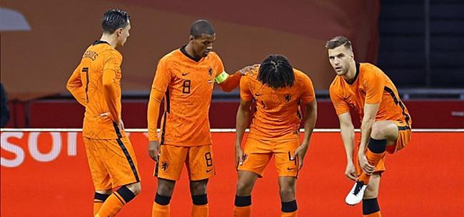 Foto: Kijkers Oranje-Spanje halen keihard uit: 'Oprotten'