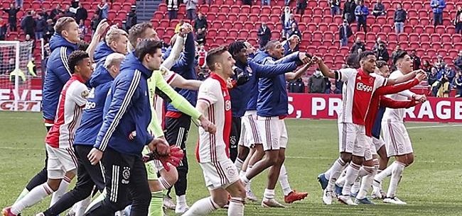 Foto: 'Verschrikkelijke dreun dreigt voor Ajax'