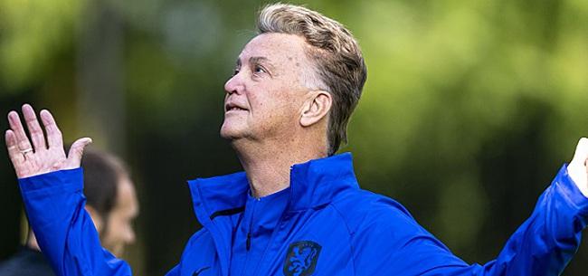 Foto: Van Gaal heeft basisteam rond: