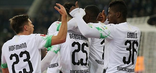 Foto: Winst voor Mönchengladbach in eerste Bundesliga-duel zonder publiek ooit