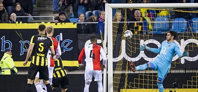 Foto: Feyenoorder lijkt het helemaal niet meer te weten
