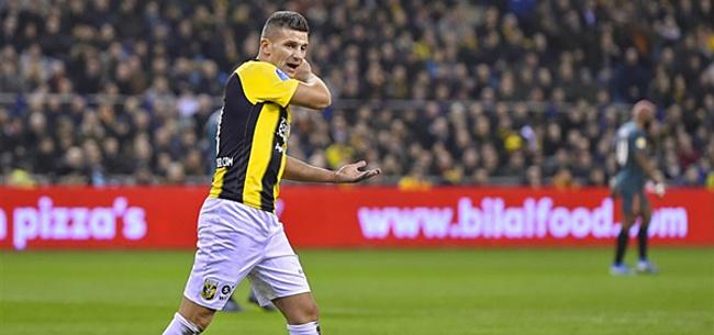 Foto: Vitesse komt met goed nieuws over voetblessure Linssen