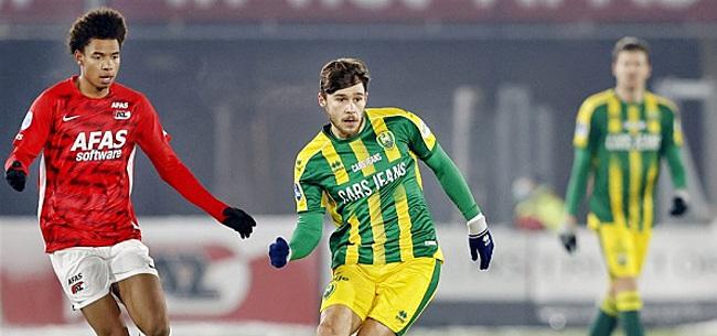 Foto: Aboukhlal laat AZ in slotfase ontsnappen tegen ADO
